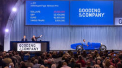2017 Gooding Scottsdale Classic Car Auction Results