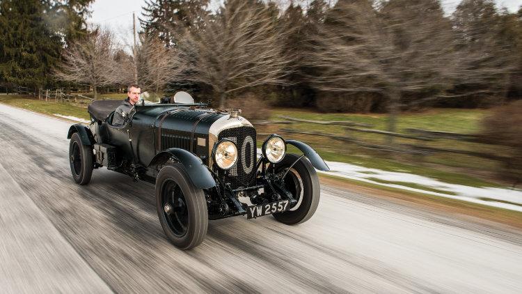 """1928 Bentley 4½-Litre Le Mans Sports """"Bobtail"""" (Est. $6,500,000-$7,500,000)"""