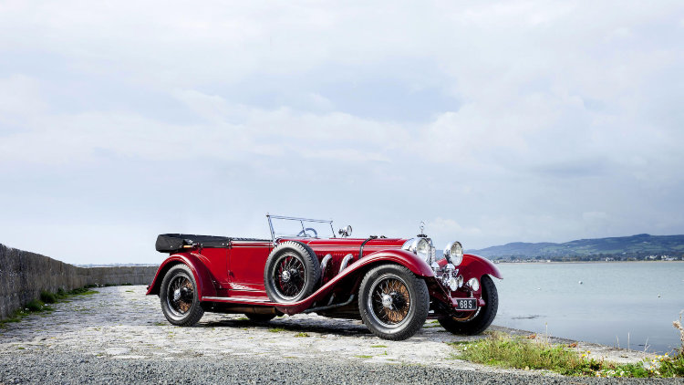 1928 Mercedes Benz Typ S 26/120/180 Supercharged Sports Tourer