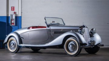 1938 Mercedes-Benz 200 V Sport Roadster