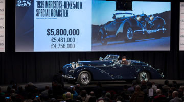 2017 RM Sotheby's Arizona Classic Car Auction Results