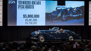 1939 Mercedes-Benz 540 K Special Roadster at Auction