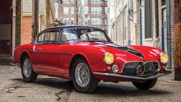 1956 Maserati A6G/54 Frua Coupe Series III