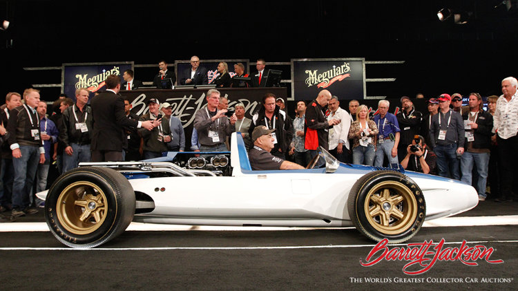 BarrettJackson Scottsdale Collector Car Sale Results - Car show in scottsdale this weekend
