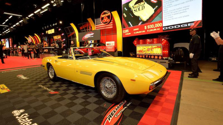 1969 Maserati Ghibli 4.9 Spyder