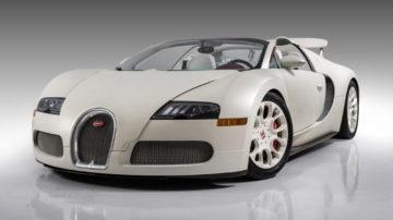 Floyd Mayweather's 2011 Bugatti Veyron Grand Sport