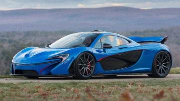 Blue 2015 McLaren P1