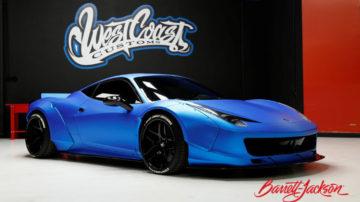 Justin Bieber's 2011 Ferrari 458