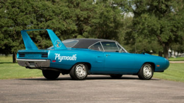 Lot #1320, a 1970 Plymouth Superbird