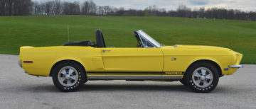 1968 Shelby GT500KR convertible (Lot #1368)