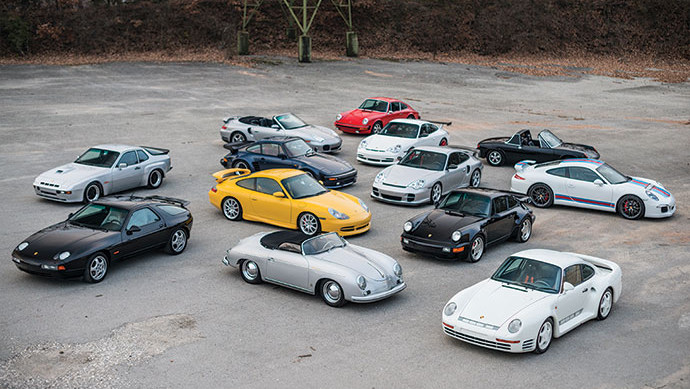 13 Porsches on offer at RM Sotheby's Paris 2017