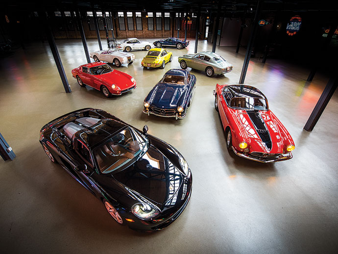 Private collection of sporting cars set for Amelia Island