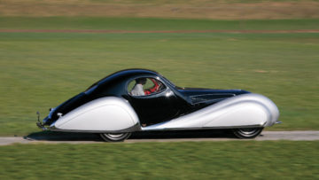 1937 Talbot-Lago T150-C SS Coupe profile moving