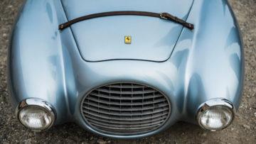1950 Ferrari 166 MM 212 Export Uovo front