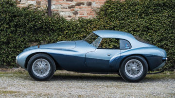 1950 Ferrari 166 MM 212 Export Uovo Side Profile