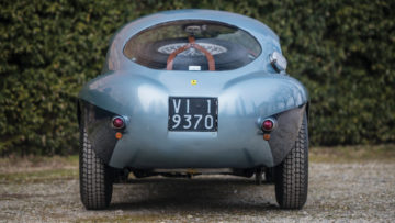 1950 Ferrari 166 MM 212 Export Uovo Rear View