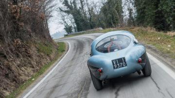 1950 Ferrari 166 MM 212 Export Uovo rear