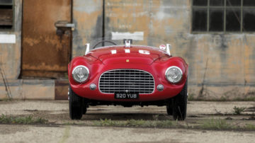 2017 rm sotheby's amelia island sale (ferrari 166 mm announcement