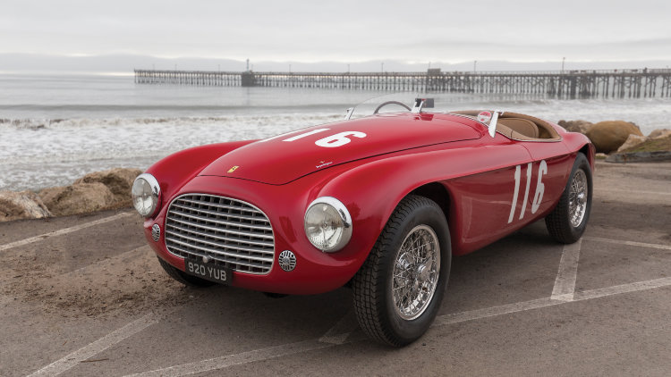 1950 Ferrari 166 MM front quarter
