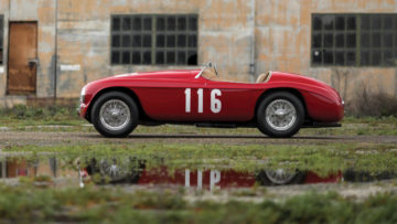 1950 Ferrari 166 MM profile