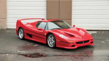 Mike Tyson's 1995 Ferrari F50