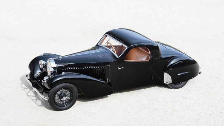 1937 Bugatti Type 57 Atalante Prototype