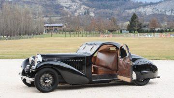 1937 Bugatti Type 57 Atalante Prototype open