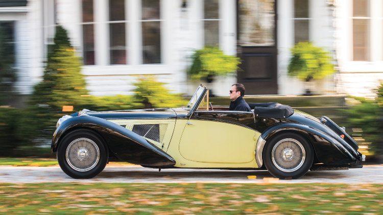 1937 Bugatti Type 57S Cabriolet by Vanvooren