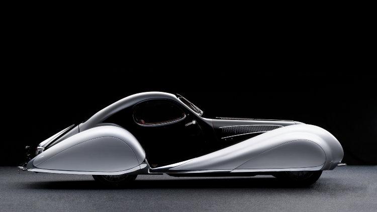 1937 Talbot-Lago T150-C SS Profile