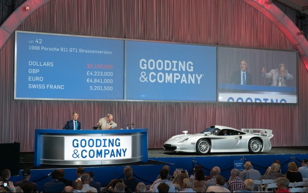 1998 Porsche 911 GT1 Strassenversion at Auction