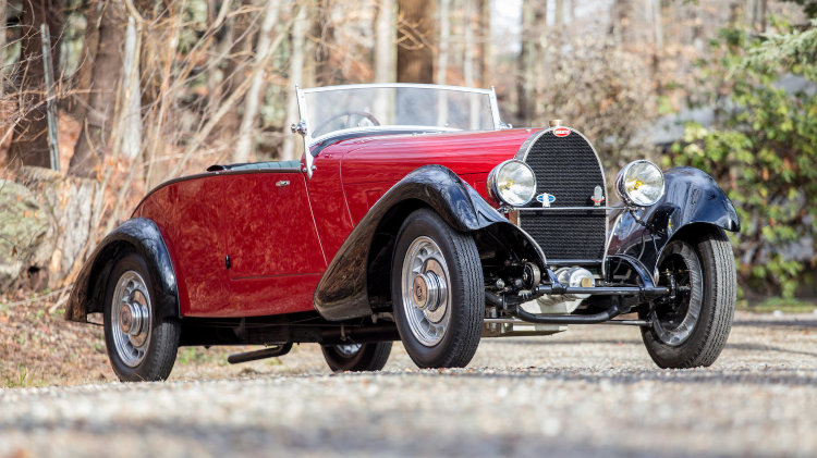 1932 Bugatti Type 49 Roadster with coachwork by Henri Labourdette