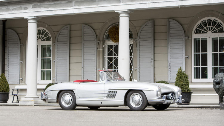 1958 Mercedes-Benz 300SL Roadster for Spa