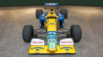 2017 Bonhams Spa Sale (Benetton F1 Announcement)