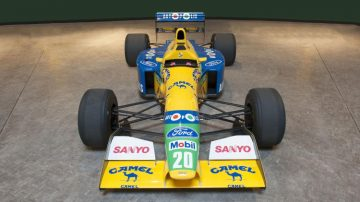 2017 Bonhams Spa Sale (Benetton F1 Announcement)