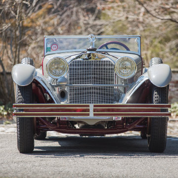 1928 Mercedes-Benz 680 S Torpedo-Sport Avant-Garde front