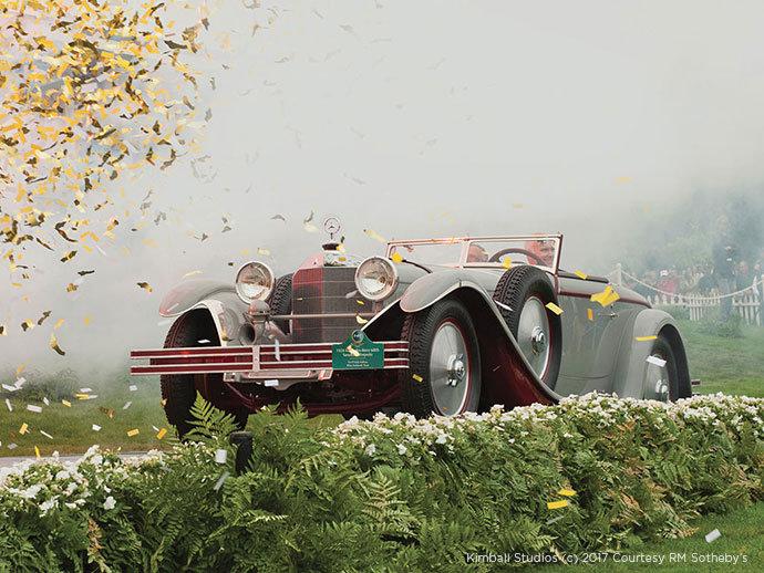 1928 Mercedes-Benz 680 S Torpedo-Sport Avant-Garde pebble beach