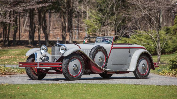1928 Mercedes-Benz 680 S Torpedo-Sport Avant-Garde