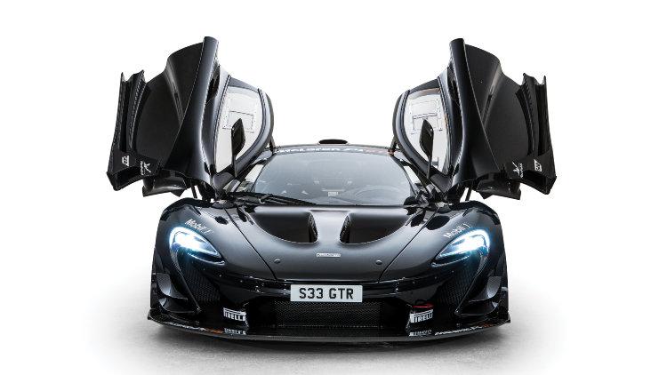 2016 McLaren P1 GTR Open Doors