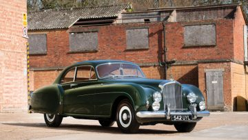 1953 Bentley R-Type Continental Sports Saloon by H.J. Mulliner