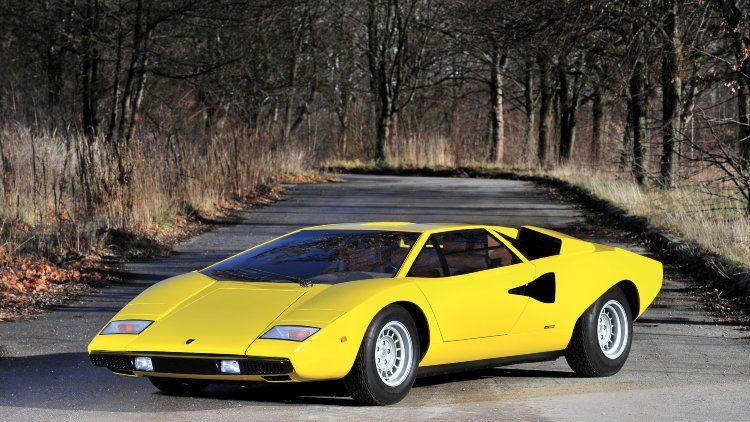 1975 Lamborghini Countach LP400 'Periscopio' by Bertone