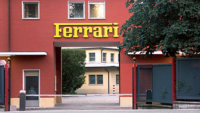 Ferrari Factory at Maranello