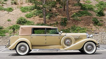 1929 Duesenberg Model J Convertible Berline by Murphy