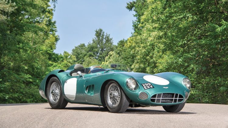 2017 (Full Year): Ten Most-Expensive Cars Sold at Public Auction