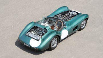 1956 Aston Martin DBR1/1 engine covers off