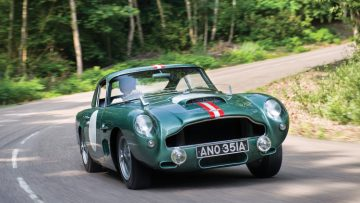 1959 Aston Martin DB4GT, chassis no. DP199 (Design Project)