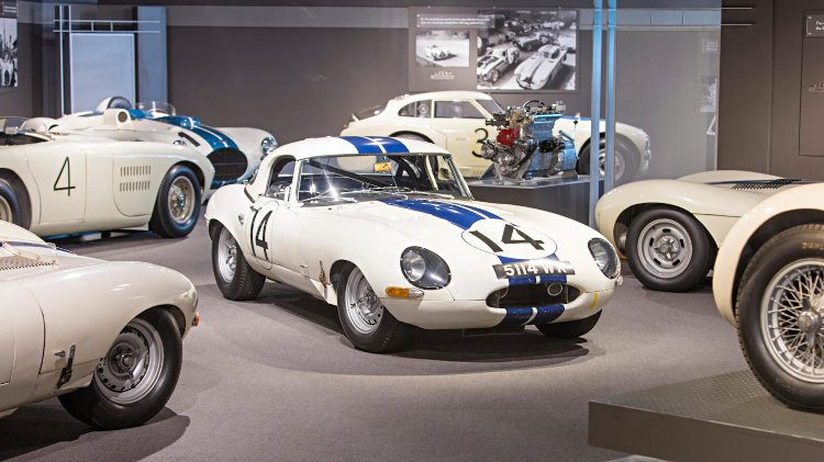 Cunningham 1963 Jaguar E-Type Lightweight Competition Coupe in Museum