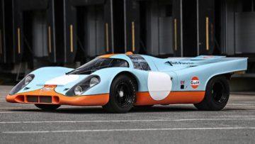 2017 Gooding Pebble Beach Auction Porsche 917 Announcement