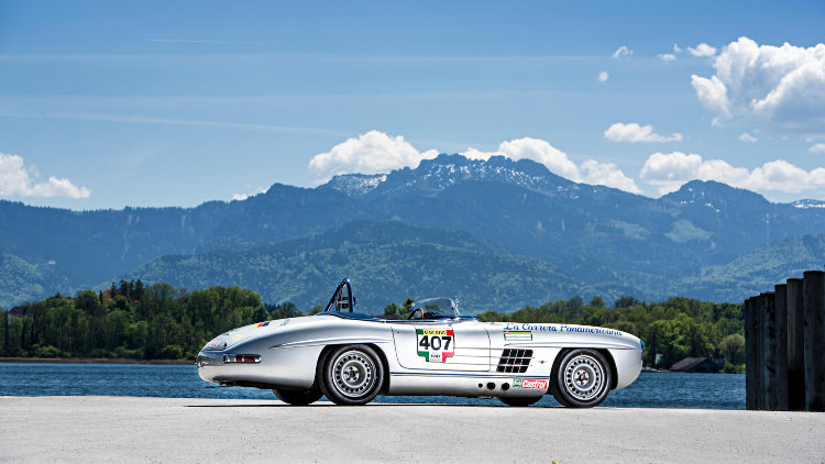 1957 Mercedes-Benz 300 SLS Competition Roadster Recreation