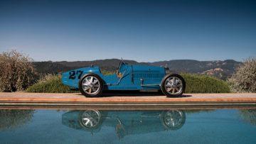 1925 Bugatti Type 35C Grand Prix Side Profile