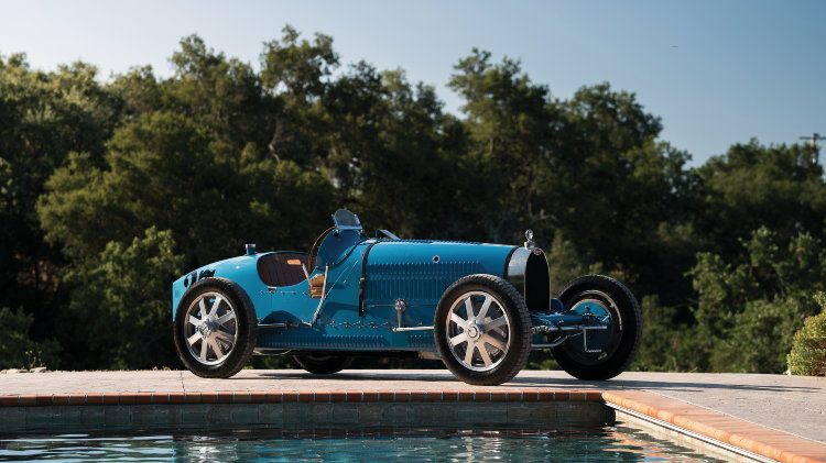 1925 Bugatti Type 35C Grand Prix side front